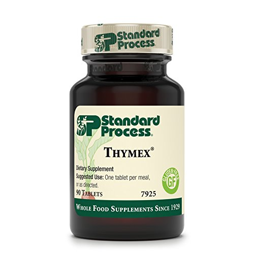 Standard Process - Thymex - Thymus Gland Support Supplement, Supports Immune System Health, Provides Antioxidant Vitamin C, Gluten Free - 90 Tablets by Standard Process (Image #1)'