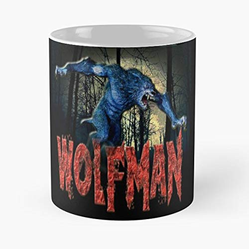 Werewolf Monster Wolf Dog Gift Ceramic Novelty Cup 11 Oz