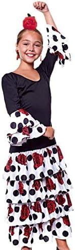Disfraz Flamenca Rosana Niña (7-9 años) (+ Tallas) Carnaval Mundo ...