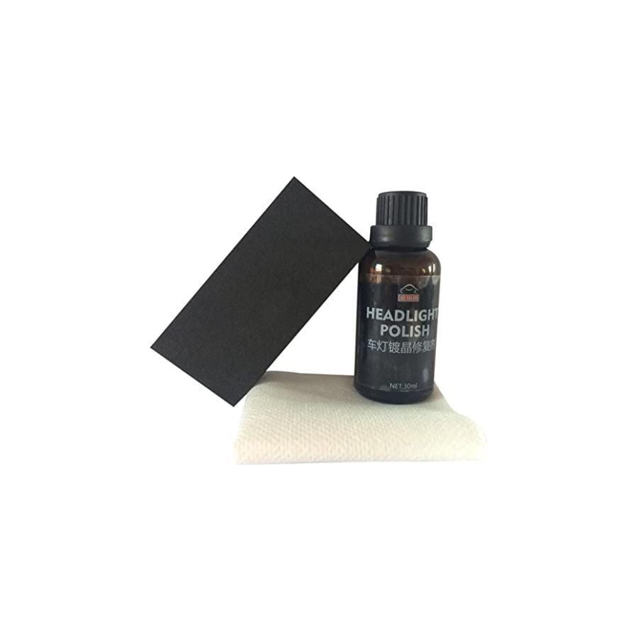 Staron Ceramic Car Coating Kit, New Car Headlights Oxidation Liquid Ceramic Coat Super Hydrophobic Glass Coating