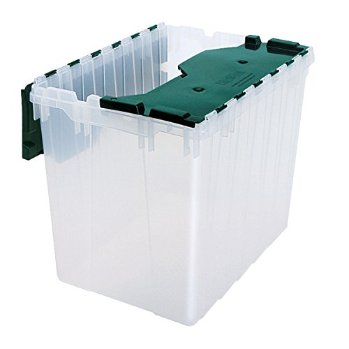Akro Mils 66497CLDGN Plastic Storage Attached