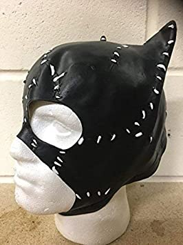 Wrestling Catwoman Látex Deluxe Halloween Disfraz Cosplay Traje ...