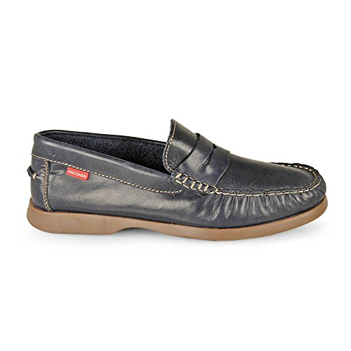 Wisconsin Mocasin Antifaz Pull Navy