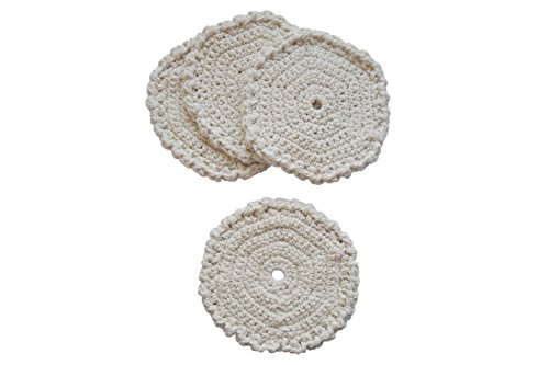 (Toockies  Certified Organic Cotton Knit Coasters in Unique