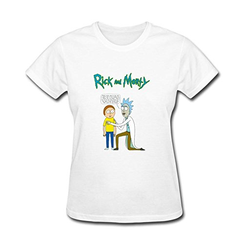 [GOFDG Rick and morty costume T Shirts For Women] (James Bond Womens Costumes)