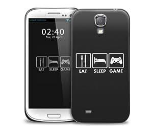 eat sleep game Samsung Galaxy S4 GS4 protective phone case