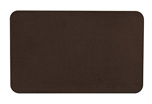 House, Home and More Skid-Resistant Carpet Indoor Area Rug Floor Mat - Chocolate Brown - 2