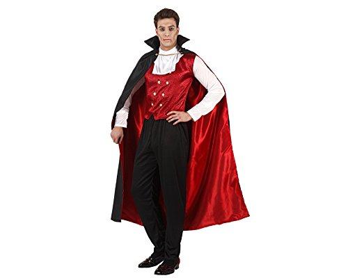 Atosa Fancy Dress Classic Vampire Adult, Size: 48/50 -