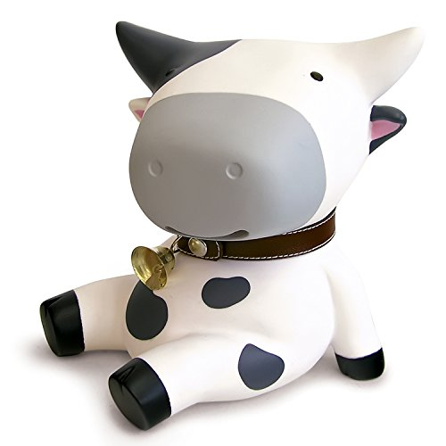 DomeStar Cute Cow Piggy Bank, Coin Bank, Classic, the Perfect Valentine's Day Gift (Cute Halloween Yard Decoration Ideas)