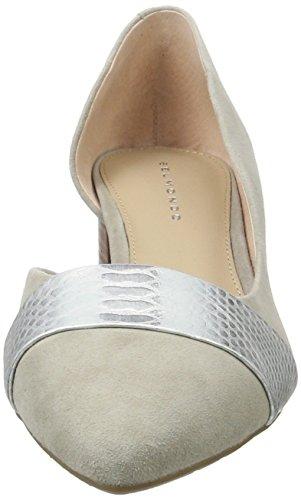 Belmondo Pumps-Damen, Zapatos de Tacón Mujer Gris (Grigio)