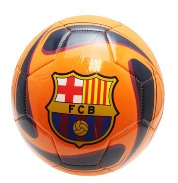 FCバルセロナサッカーボールTornadoサイズ5 B015YQLJWCオレンジ/ブルー