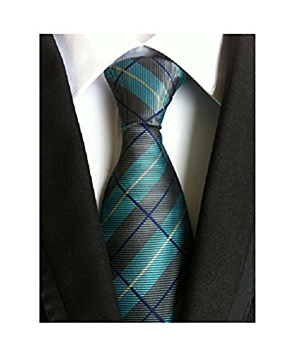 mens blue green ties - 5