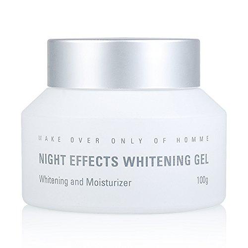 MdoC Men's Skin Lightening Cream Night Effeects Whitening Gel 100g
