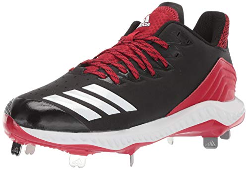 (adidas Men's Icon Bounce, Black/White/Power red 10.5 M US)