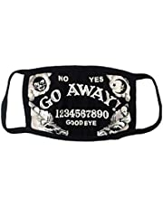 Go Away Ouija Face Mask Kreepsville 666 Horror Fashion Cover