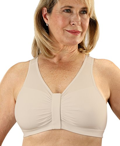 Classique 800 Post Mastectomy Fashion Bra-Beige-Large