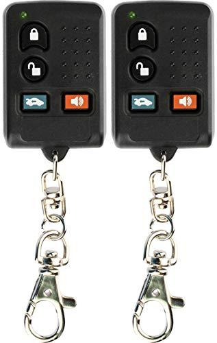 (KeylessOption Keyless Entry Remote Car Key Fob for Sebring Avenger Diamante Eclipse GQ43VT6T (Pack of 2))