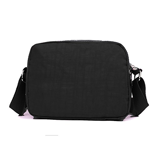 Tote BUY Body Bag Pocket Purse Messenger Black Waterproof Nylon SUNRAY Cross Shoulder Women Bags Multi vzpAv0df