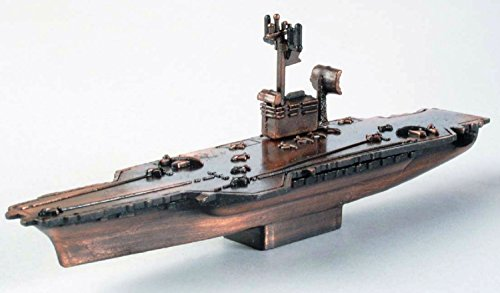 Navy Aircraft Carrier Die Cast Metal Collectible Pencil Sharpener