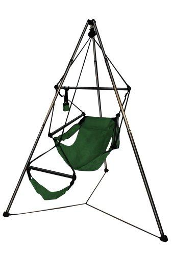 Hammaka Tripod Stand And Hammaka Chair Combo - Aluminum Dowels, - Single Hammaka
