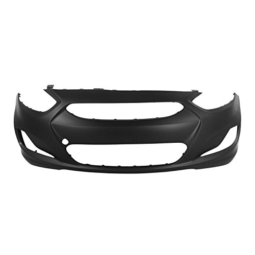 MBI AUTO - Painted to Match, Front Bumper Cover Fascia for 2012 2013 Hyundai Accent Sedan & Hatchback 12 13, HY1000188