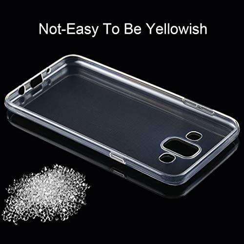 あなたの携帯電話を保護する Galaxy J7 Duo用50PCS 0.75mm透明TPUケース (SKU : Sas3437t)