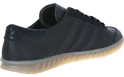Adidas Hamburg chaussures 10,5 black/black/gum - Noir - 45 1/3 EU