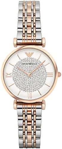 Emporio Armani Women S Wrist Watch Silver 32 Buy Online At Best Price In Ksa Souq Is Now Amazon Sa