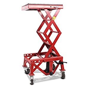 Pont Elevateur Hydraulique ConStands Moto Cross Mover Lift XL rouge Beta RR Enduro 4T 125/ LC