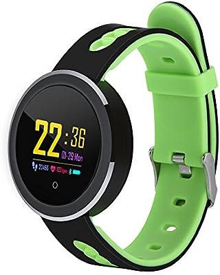 Eboxer Bluetooth Reloj Inteligente de Deportes,IP68 Impermeable Pulsera de Rastreador de Fitness con Presión Arterial/Frecuencia Cardíaca/Monitoreo del ...