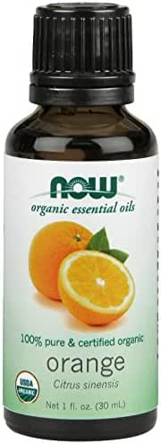 Orange Essential Oil Certified Organic 1 Ounces