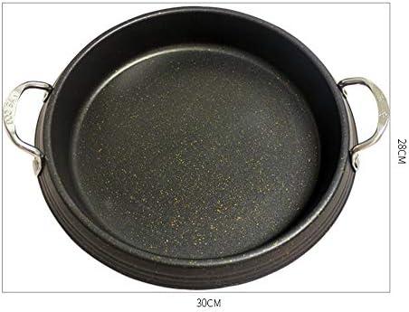 Lxc Fondue fromage PAN Pot de fruits de mer Rice Cake Cake Poe Pan Coréen Hotpot Induction/Flamme ouverte