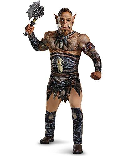 (Disguise Men's Warcraft Durotan Muscle Costume, Multi, Medium)