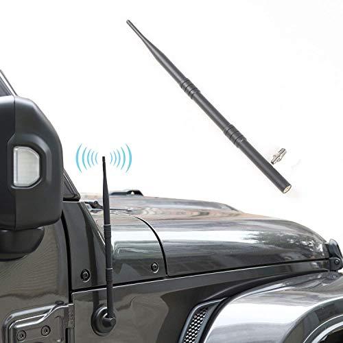 JeCar Antenna for 2007-2019 Jeep Wrangler JK JKU JL JLU Sahara Rubicon 2/4 Door, 13