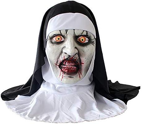 Amazon.com Halloween Scary Mask Full Head Deluxe Latex