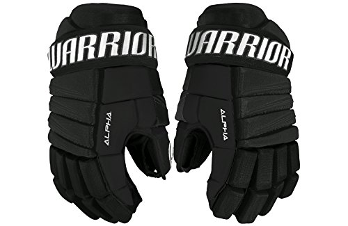 WARRIOR Youth Alpha Qx3 Gloves, Size 9, Black -