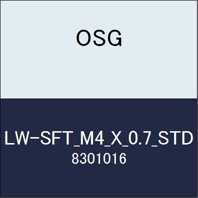 OSG ハイススパイラルタップ LW-SFT_M4_X_0.7_STD 商品番号 8301016