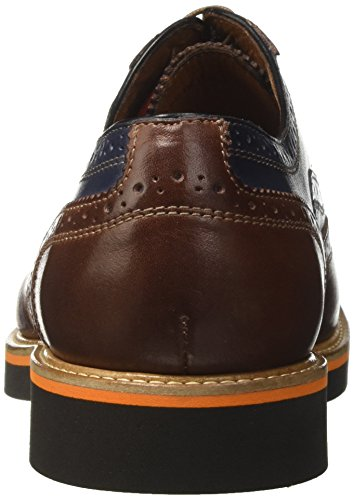 Schuhe Bata Herren Rosso 8245215 Burgundy Brogue Multicolore trfwrAq