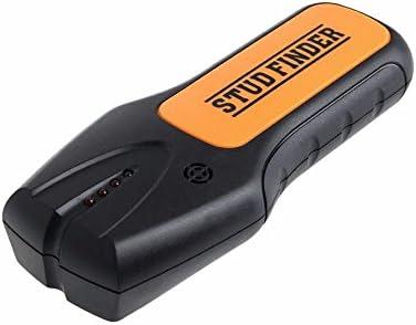 Buscador de perno, detector de metales portátil 3 en 1 Buscador de perno con advertencia de sonido e indicador LED que se enciende para leñador de madera ...