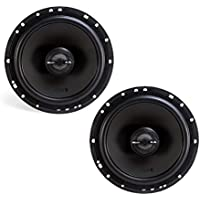 MB Quart 240 Watt 6.5 Inch Z-Line Series 2-Way Coaxial Speakers Pair | ZK1-116