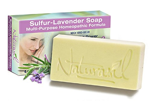 Sulfur-Lavender Soap by Naturasil 4 oz ()