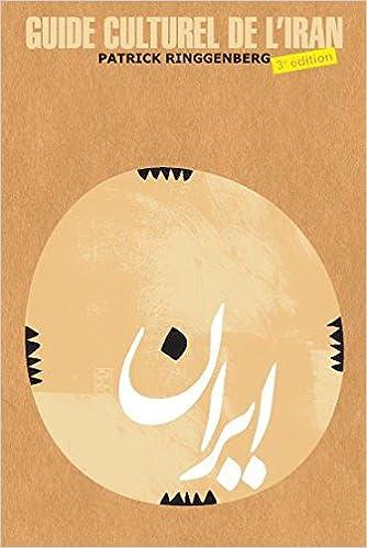 Lire un Guide culturel de l'Iran pdf