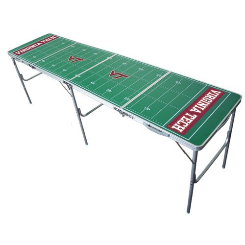 Virginia Tech Hokies 2x8 Tailgate Table by Wild Sports by Wild Sales