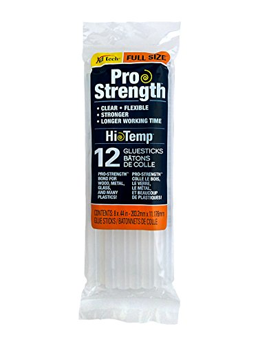 AdTech 12-Pack Full-Size Pro Strength Clear Glue Sticks #236-1812 by Ad-Tech