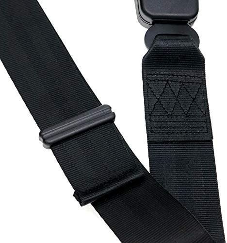 2 Point Adjustable Seat Safety Belt Harness Kit Single Double Seat Lap Seatbelt Universal for Go Kart UTV Buggie Club Vehicle Truck Black