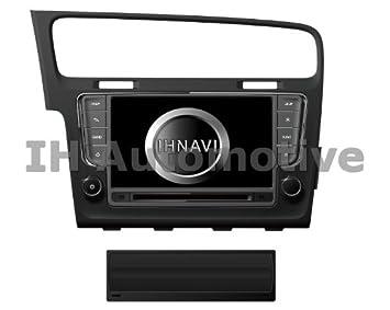Ihnavi Ih257 - Sistema de navegación radio gps para volkswagen golf vii. gama excellent: Amazon.es: Coche y moto