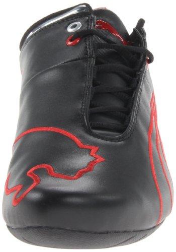 Cat Puma Future M1 Ferrari Nm Motorsport zapatilla de deporte de moda Black-rosso corsa