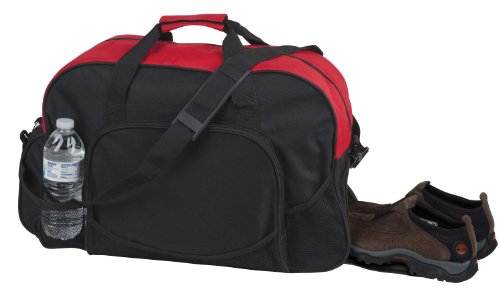 Deluxe Sports Duffle Shoe Storage