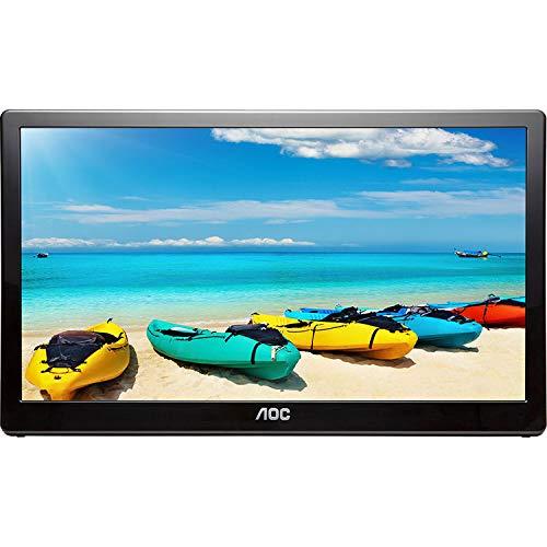 AOC 17.3 inch Ultra Slim 1600x900 Brightness USB 3 Portable LED Monitor E1759FWU