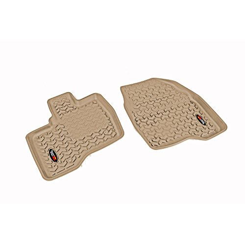 Rugged Ridge 83902.09, All Terrain Floor Liner, Front, Tan, 2011-2014 Ford Explorer